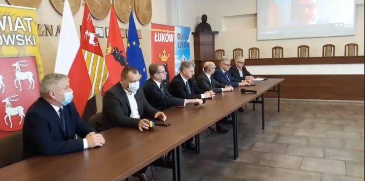 Uroczyste podpisanie Listu Intencyjnego dotyczącego współpracy w ramach