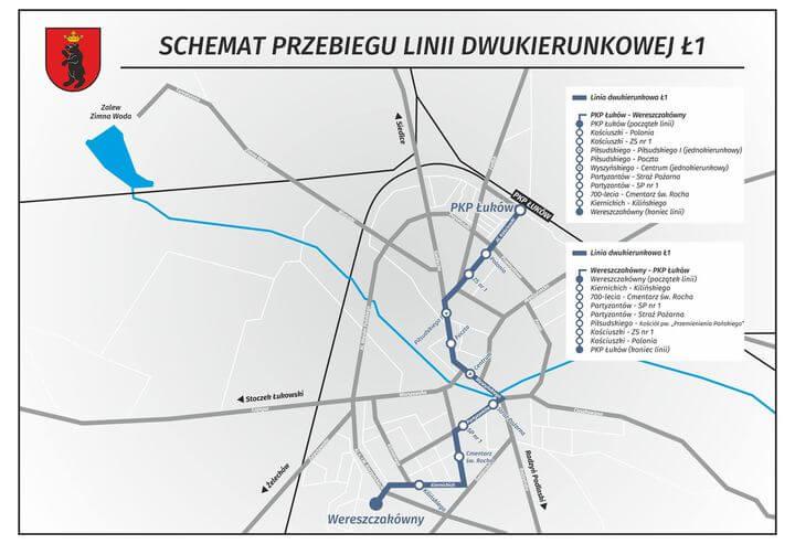 Z dniem 1 czerwca 2021 najprawdopodobniej ruszy darmowa komunikacja miejska w Łukowie :)